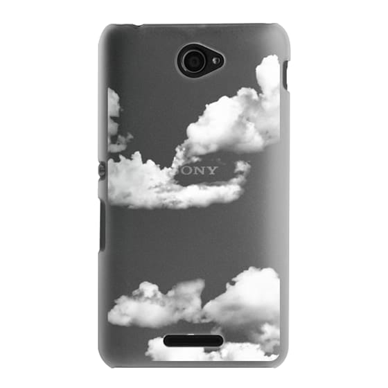 Sony E4 Cases - clouds