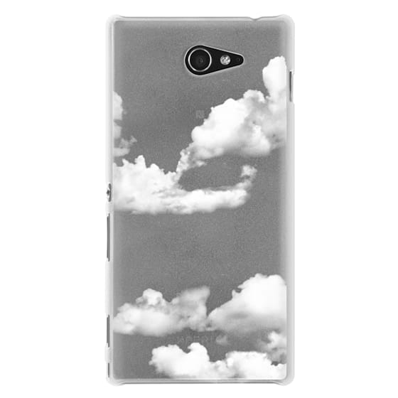 Sony M2 Cases - clouds