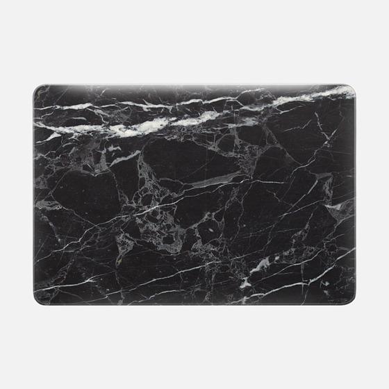 Macbook Pro 13 Capa - Black Marble