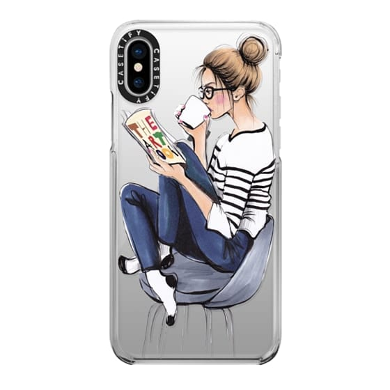 iPhone X Cases - Coffee Break