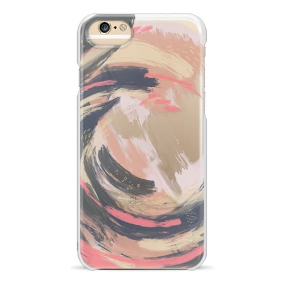 iPhone 6s Cases - Pink & Blue Swirl