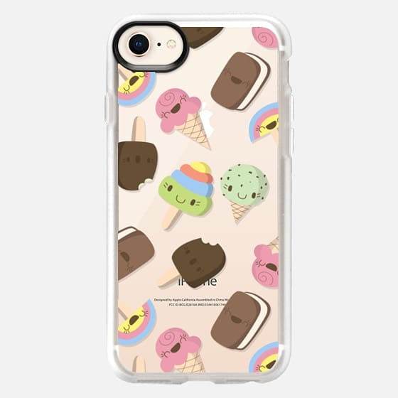 Cute Ice Cream Pattern - Snap Case