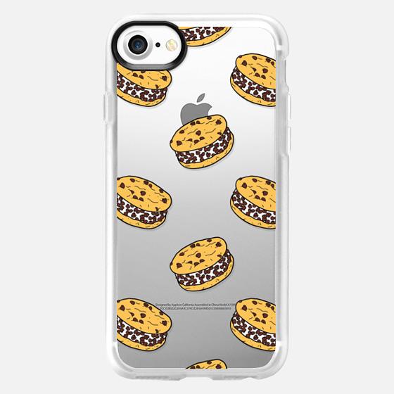 Chocolate Chip Cookie Ice Cream Sandwiches - Wallet Case