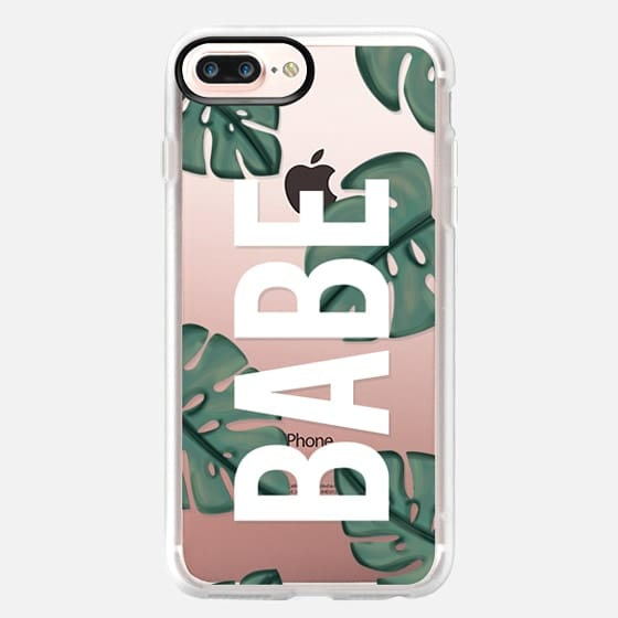 Tropical Babe Leaves - Classic Grip Case