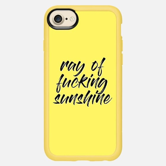 Ray Of F***ing Sunshine - Classic Grip Case