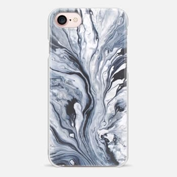 iPhone 7 Case Blue Marble