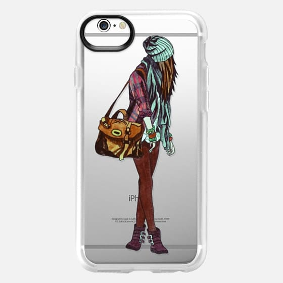 Fashion girl 1 - Classic Grip Case