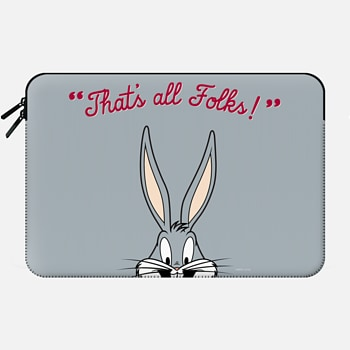 Macbook Pro Retina 13 Sleeve That's All Folks - Bugs Bunny Macbook Sleeve