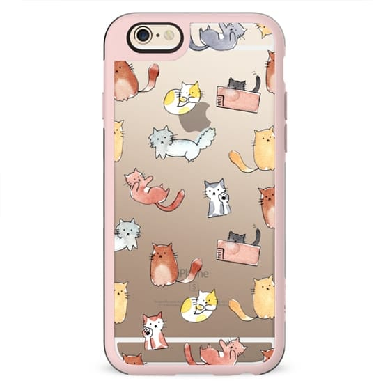 You're Purrfect - Transparent iPhone Case