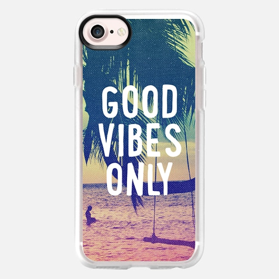 Good Vibes Only Summer Beach California Chill Tropical Cool - Wallet Case