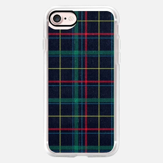 Plaid Tartan Grunge Check Pattern 90s -