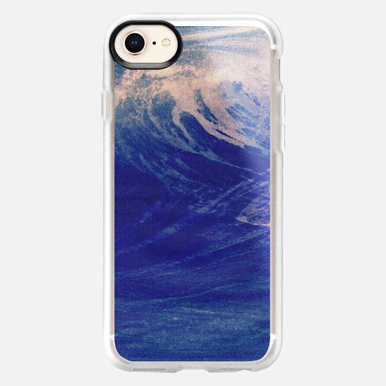 Blue Ocean Sea Wave Surf California Chill Summer Good Vibes - Snap Case