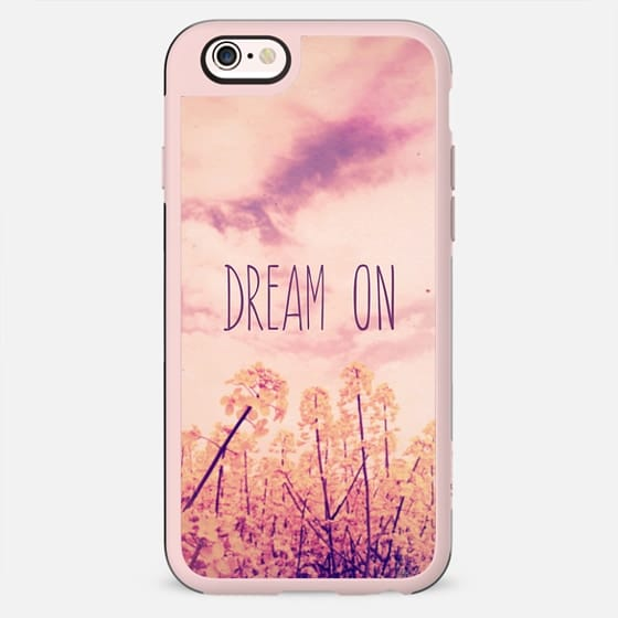 "Purple Pink Clouds Summer Sky Wild Flowers ""Dream On"" -"