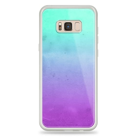 new style 5c2c0 ebbbe Cute Girly Colorful Purple Mint Turquoise Aqua Ombre Fade – CASETiFY