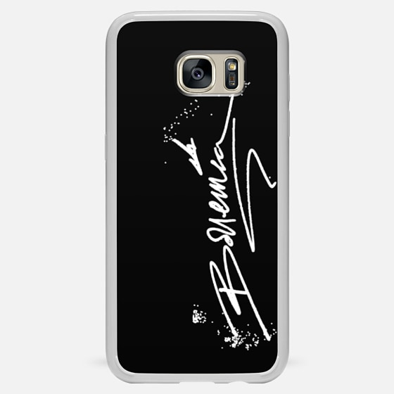 AUTOGRAPH (Galaxy S4) White on Black - Classic Snap Case