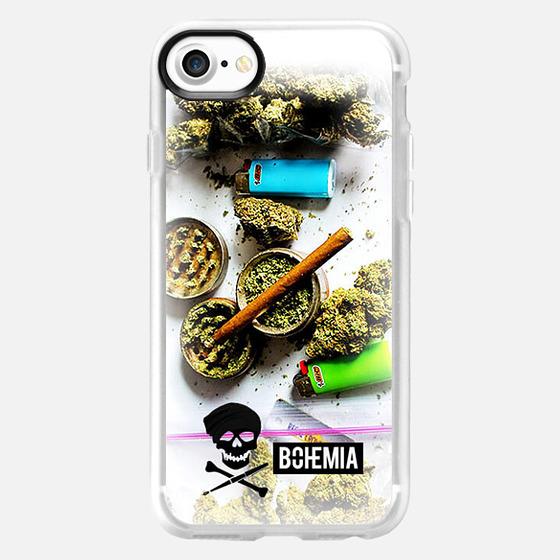 Bohemia Weed Iphone 6 Plus - Classic Grip Case