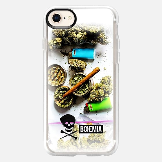Bohemia Weed (iPhone 7) - Snap Case