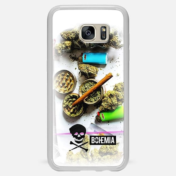 Bohemia Weed (Galaxy Note) - Classic Snap Case