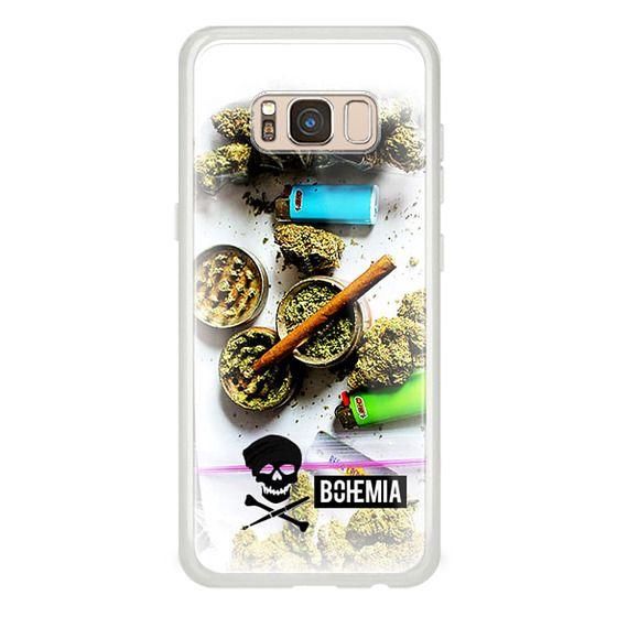 Samsung Galaxy S8 Cases - Bohemia Weed (Galaxy Note)