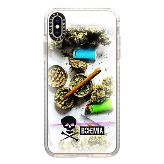 iPhone XS Max Cases - Bohemia Weed (iPhone 7)