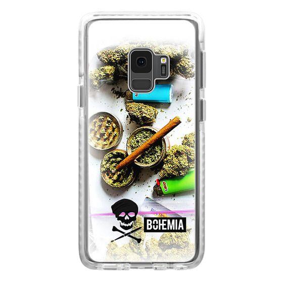 Samsung Galaxy S9 Cases - Bohemia Weed (Galaxy S7 Edge)