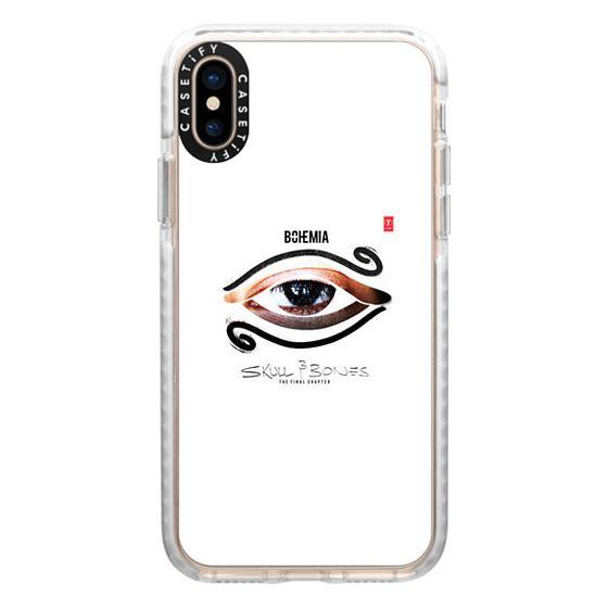 iPhone XS Cases - Skull and Bones (iPhone 7)