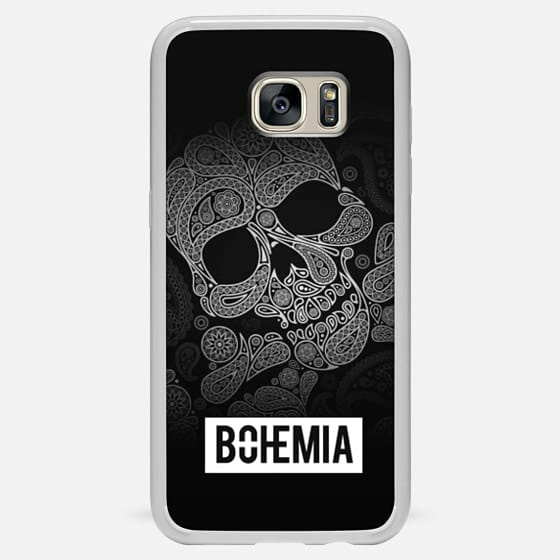 Skull and Bones (Samsung Galaxy S8) - Classic Snap Case