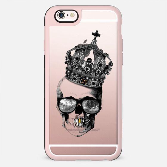King skull - TRANSPARENT - New Standard Case