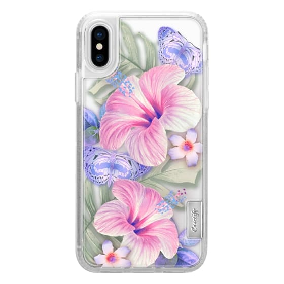 iPhone 6s Cases - Clear Floral Aloha