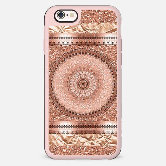 Rose Gold Mandala - New Standard Case