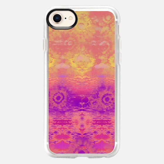 Sunset Tie-Dye - Snap Case