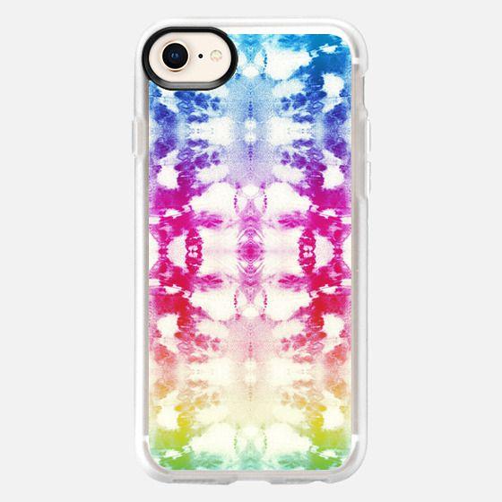 Tie-Dye Rainbow - Snap Case