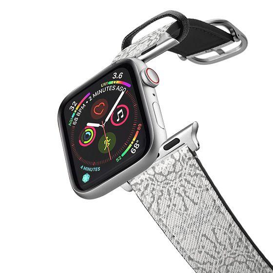 Apple Watch 42mm Bands - White Lace Mandalas