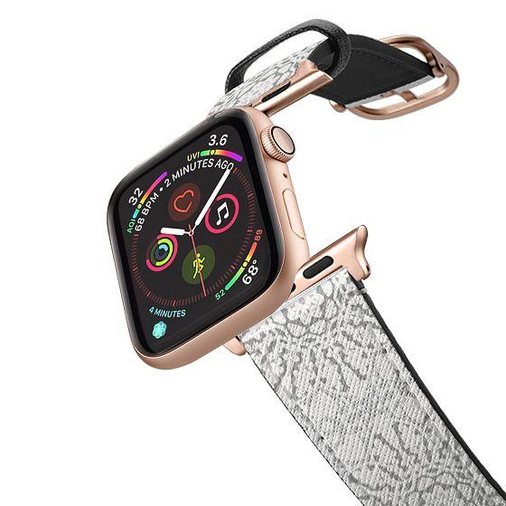 Apple Watch 38mm Bands - White Lace Mandalas