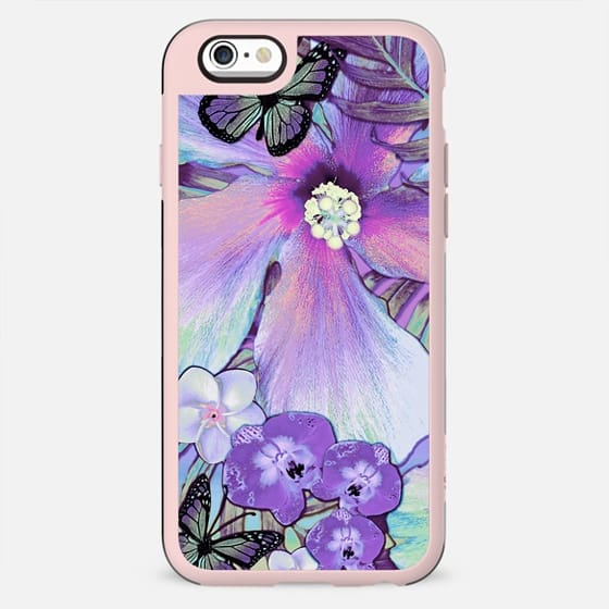 Orchid Hibiscus Tropical - New Standard Case