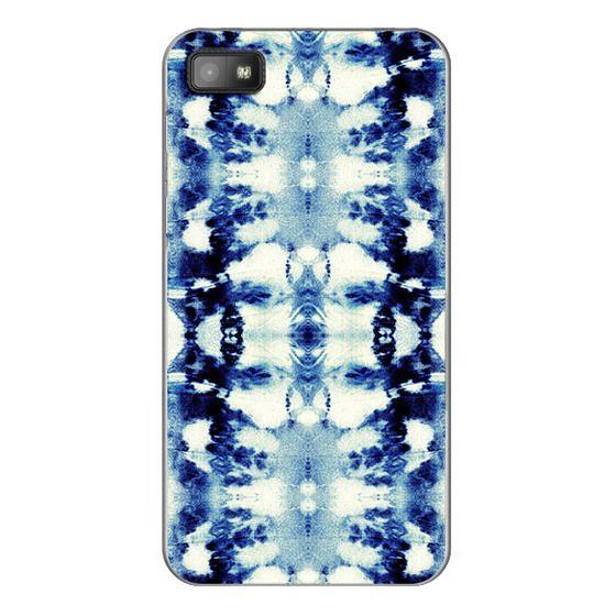 Blackberry Z10 Cases - Tie-Dye Blues
