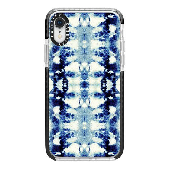 iPhone XR Cases - Tie-Dye Blues