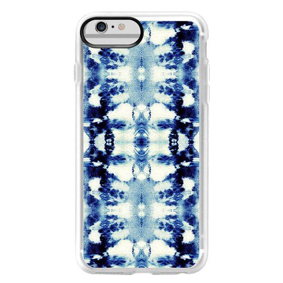 iPhone 6 Plus Cases - Tie-Dye Blues