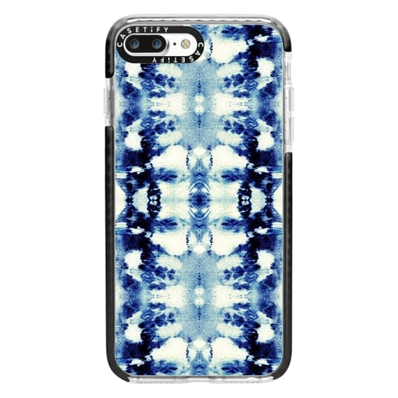 iPhone 7 Plus Cases - Tie-Dye Blues