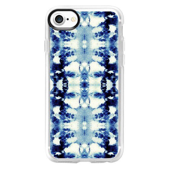 iPhone 7 Cases - Tie-Dye Blues