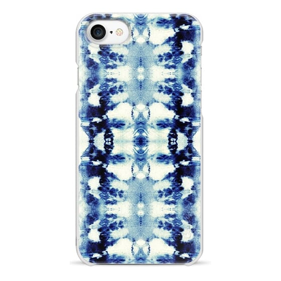 iPhone 7 Cases - Tie-Dye Blues