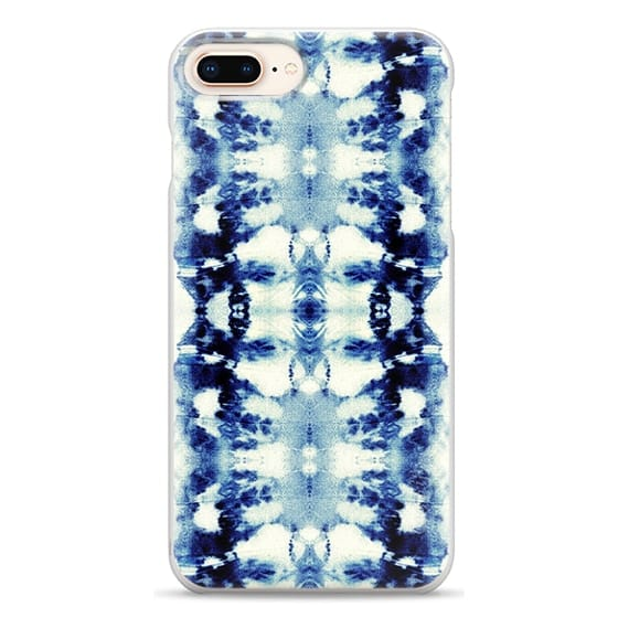 iPhone 8 Plus Cases - Tie-Dye Blues