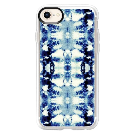 iPhone 8 Cases - Tie-Dye Blues