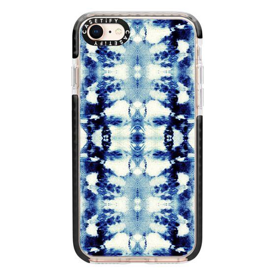 iPhone 8 Cases - Tie-Dye Blues