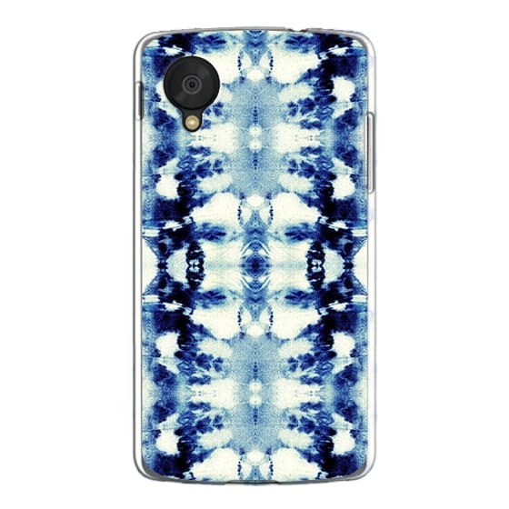 Nexus 5 Cases - Tie-Dye Blues