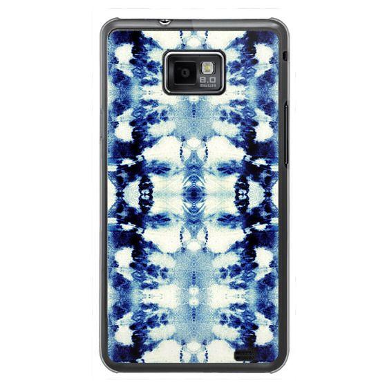 Samsung Galaxy S2 Cases - Tie-Dye Blues