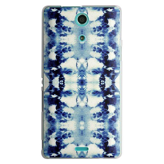 Sony Zr Cases - Tie-Dye Blues