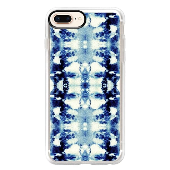 iPhone 8 Plus Cases - Tie-Dye Blues