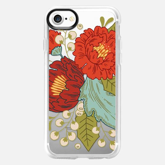 Festive Florals - Wallet Case