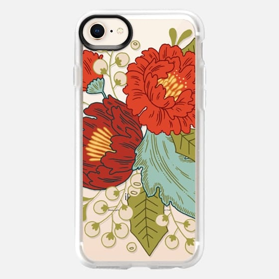 Festive Florals - Snap Case